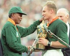 Rugby World Cup Winners 1995 South Africa