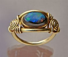 a Tiffany & Co ring dated back to 1910. Sure looks like some of the rings I make!