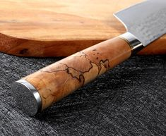 Handmade Chef Knife, Fish Knife, Professional Kitchen, Damascus Steel, Rolling Pin, Layers, Cooking, Layering, Kitchen