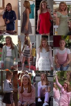 In the Cher Horowitz from Clueless was THE style icon! Which outfits from her do you like today? Clueless Style / Clueless Fashion / Cher Horowitz Style / Clueless Outfits - Hair Styles For School 90s Girl Fashion, Clueless Fashion, Fashion Mode, Look Fashion, Clueless 1995, Cher Clueless Outfit, Clueless Style, Cher From Clueless, 90s Fashion Grunge
