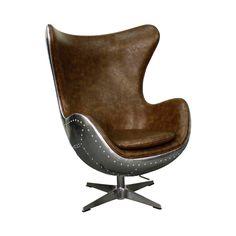 Meridian Swivel Rocker Chair - Dot & Bo