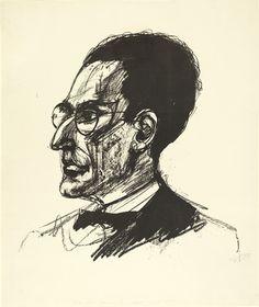 Otto Dix todo in pen