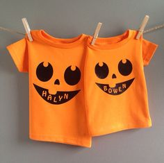 Halloween is my absolute favorite holiday! These are the cutest personalized shirts to celebrate Halloween this fall or for some pumpkin patch