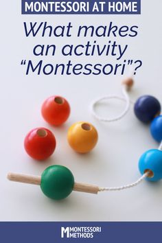 "Read this before making ""Montessori-inspired"" activities for your toddler or preschooler."