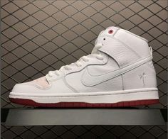 e66ee925406c This Nike SB Dunk High Kevin Bradley is dressed in White upper wears down  as you skate