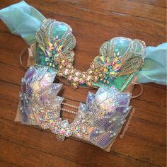 These plunge beauties can be made in any color for Halloween & other events! ✨💎✨ we will be taking LIMITED custom orders in comparison to… Music Festival Outfits, Festival Fashion, Music Festivals, Rave Outfits, Girl Outfits, Fashion Outfits, Estilo Tribal, Silicone Mermaid Tails, Mermaid Top
