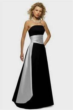 Nice black and silver bridesmaid dresses 2017-2018