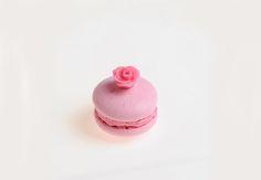Macaron alla rosa © Lucia Dovere