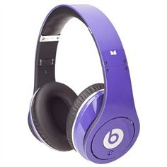 Monster Cable Beats by Dr. Dre Studio Powered Isolation Headphone - Purple #UltrabookStyle  Love the color!