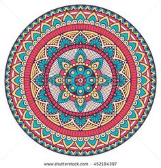 Find Flower Mandala Vintage Decorative Elements Oriental stock images in HD and millions of other royalty-free stock photos, illustrations and vectors in the Shutterstock collection. Thousands of new, high-quality pictures added every day. Mandala Art Lesson, Mandala Artwork, Mandala Canvas, Mandala Drawing, Mandala Painting, Art Zen, Hamsa Art, Design Mandala, Sacred Geometry Tattoo