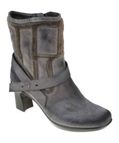 Take a look at this Smoke Snapdragon Boot by Earth on #zulily today!
