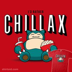 Chillax like a… #gaming #netflix #nintendo #pokemon #pokemongo #ryanastle #snorlax #videogame