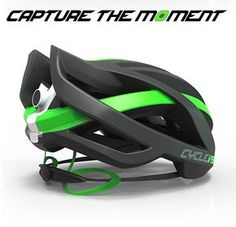 Merkabici El casco de Cyclevision, que cuenta con dos cámaras integradas, proporcionará una visión de 320°