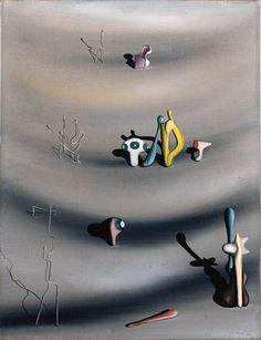 Yves Tanguy - 1938 - Je retrouve cet objet trouvé