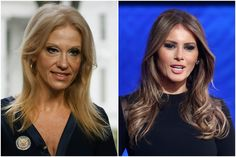 "WASHINGTON – White House counselor Kellyanne Conway suggested Slovenia-born Melania Trump isn't getting enough recognition as an immigrant first lady because she's not aligned with the ""privileged …"