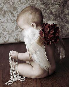 Heavenly...The New Vintage Baby Angel Wings