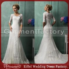 Free shipping, $157.07/Piece:buy wholesale amelia sposa 2014 wedding dresses scalloped small v neck mermaid court train half length lace wedding gowns from DHgate.com,get worldwide delivery and buyer protection service.