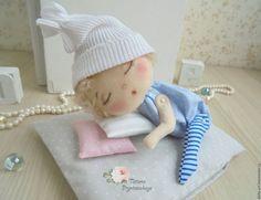 Купить Сплюшечки - комбинированный, сплюшка, спящий ангел, ангелочек, ангел-хранитель, спящий малыш, спящий
