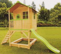 wooden playhouse, add on to our existing equipment.