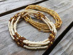 waist beads meaning . waist beads diy how to make . waist beads color meaning . Beaded Choker, Beaded Jewelry, Beaded Bracelets, Handmade Bracelets, Waist Jewelry, Body Jewelry, Jewlery, Seed Bead Necklace, Lariat Necklace