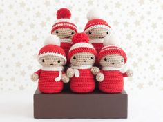 Variety of Christmas Crochet Crafts