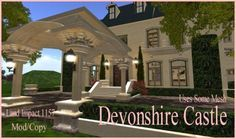 Second Life Devonshire Castle