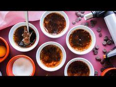 TARTĂ DE CIOCOLATĂ CU ZMEURĂ | Rețetă + Video - Valerie's Food Lava Cakes, Creme Brulee, Palak Paneer, Fondant, Pudding, Ethnic Recipes, Desserts, Food, Pies