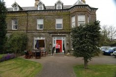 Huge old mansion converted to a B where we stayed in Ballymena N. Ireland Mar 2006 with Jaquie McLoughlin.