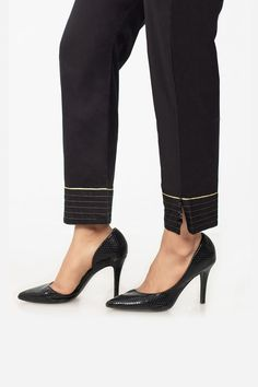 Black-Cambric-Trouser - Trouser - Separates