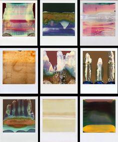 William Miller's Ruined Polaroids