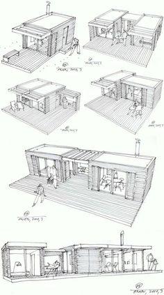 """Modular Home Additions in rustic style. Hay que analizar los conceptos aquí vertidos, """"no todo lo que brilla es oro""""."""