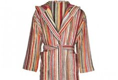 Missoni bath robes and towels - perfect for cotton anniversary (2nd anniversary).