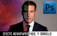 #Photoshop #Videotutorial Efecto Newspaper. #TAVnews