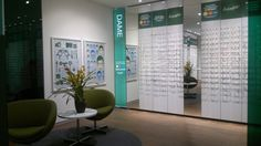 Optician shop concept, Brilleland on the Behance Network