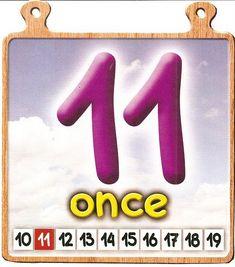 Spanish 1, Design Inspiration, Album, Preschool Ideas, Numbers, Home, Preschool Worksheets, Preschool Math Activities, Number Posters
