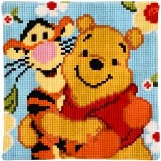 cross stitch pillow kit - Google Search