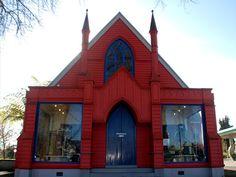 The Pink Church, Cambridge, New Zealand