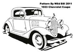 1933 Chevrolet Coupe - Transportation - User Gallery - Scroll Saw Village