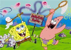 Spongebob game ideas. (Also pin the eye on Plankton.)