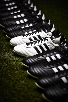 Legendary never looked so good. Introducing the Limited Edition White/Black #adidas Copa Mundial. #soccer #cleats
