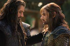 Thorin y Kili en Erebor