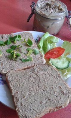 This no all / Disznóól - KonyhaMalacka disznóságai: Házi májkrém Hungarian Cuisine, Hungarian Recipes, Charcuterie, Sauce, Avocado Toast, Main Dishes, Healthy Living, Food And Drink, Homemade