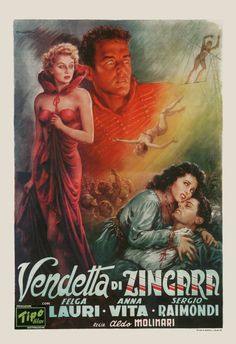 VINTAGE MOVIE POSTER Classic Italian Movie by EncorePrintSociety