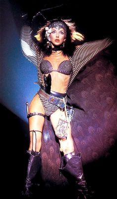 """Babooshka"""" - Kate Bush (1980) I so wanted that outfit...i would have worn it everywhere!!!"""