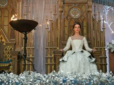 Mary sitting in her royal throne, looking way better than most people ever will. #Reign