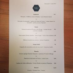 La carte du jour - The Broken Arm Label Rouge, Pain Pita, Cafe Menu, Arm, Personalized Items, Recipes, Food, Olive Oil, Cards