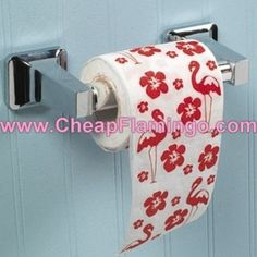 Flamingo toilet paper:   13 Novelty Toilet Paper Rolls You Can (Should, Really)Own