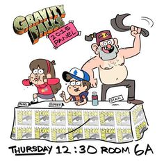 Comicon panel for Gravity Falls on July 9th?!?!!?!? GREAT! Another thing to cry myself to sleep about, since I won't be able go. THANK YOU MOM!