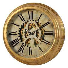 Cooper Classics Dorey Gear Clock