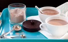 Spoon this hot chocolate mix into jars to give as gifts, or keep some on hand in your own pantry for chilly afternoons. For a burst of flavor, try steeping a bag of mint or almond tea in the mug along with the hot chocolate.
